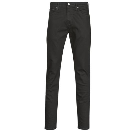Clothing Men Slim jeans Levi's 512 SLIM TAPER Black