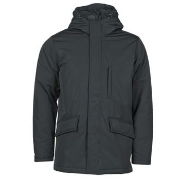 Clothing Men Parkas Levi's WOODSIDE UTILITY PARKA Jet /  black