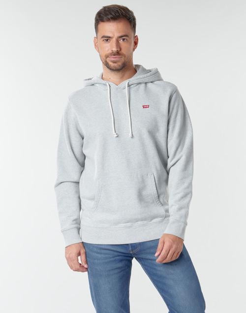 Clothing Men Sweaters Levi's NEW ORIGINAL HOODIE Eco / Granite / Heather