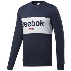 Clothing Men sweaters Reebok Sport TE LL Crew Graphite