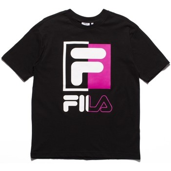 Clothing Men Short-sleeved t-shirts Fila Men Saku Tee White, Black, Pink
