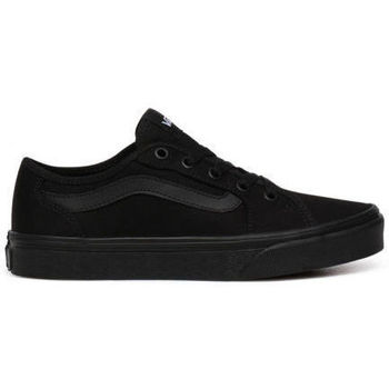 Shoes Women Low top trainers Vans Filmore Decon Canvas Black