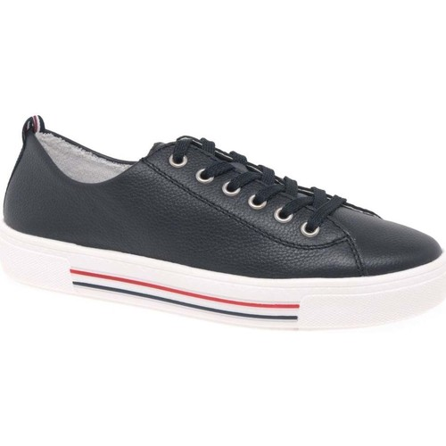 Shoes Women Fitness / Training Remonte Dorndorf Harar Womens Casual Trainers blue