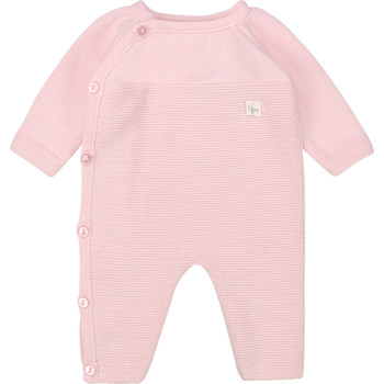 Clothing Girl Jumpsuits / Dungarees Carrément Beau Y94184 Pink