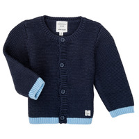 Clothing Girl Jackets / Cardigans Carrément Beau Y95230 Blue