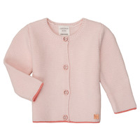 Clothing Girl Jackets / Cardigans Carrément Beau Y95225 Pink