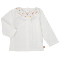 Clothing Girl Long sleeved tee-shirts Carrément Beau Y95244 White