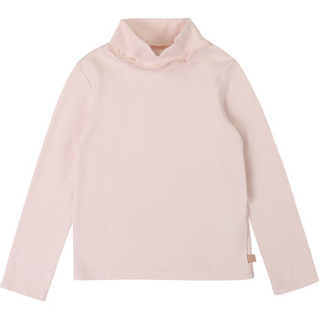 Clothing Girl Long sleeved tee-shirts Carrément Beau Y15334 Pink