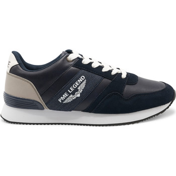 Shoes Men Low top trainers Pme Legend Mach20 Navy Blue