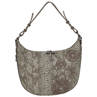 Bags Women Small shoulder bags Desigual CRISEIDA SIBERIA Chocolate