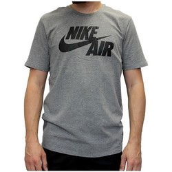 Clothing Men Short-sleeved t-shirts Nike Air Tee Grey