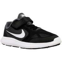 Shoes Children Low top trainers Nike Revolution 3 Psv White, Black