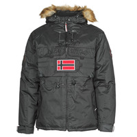 Clothing Men Parkas Geographical Norway BENCH Black