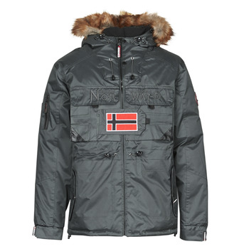 Clothing Men Parkas Geographical Norway BENCH Grey / Dark