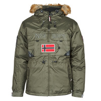 Clothing Men Parkas Geographical Norway BENCH Kaki