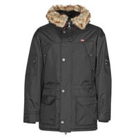 Clothing Men Parkas Geographical Norway ABIOSAURE Black