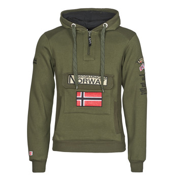 Clothing Men Sweaters Geographical Norway GYMCLASS Kaki