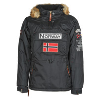 Clothing Men Parkas Geographical Norway BARMAN Black