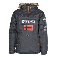 Clothing Men Parkas Geographical Norway BARMAN Grey / Dark