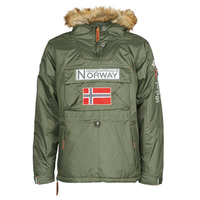 Clothing Men Parkas Geographical Norway BARMAN Kaki