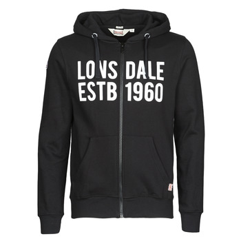 Clothing Men Sweaters Lonsdale SOLFACH Black