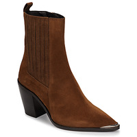 Shoes Women Ankle boots Jonak BASAMA Brown