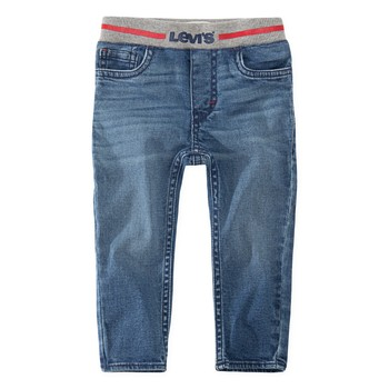 Clothing Boy Skinny jeans Levi's PULL-ON SKINNY JEAN Riber / Run