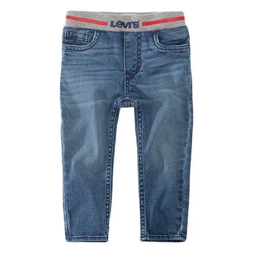 Clothing Boy Skinny jeans Levi's PULL-ON SKINNY JEAN Blue