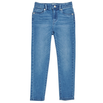 Clothing Girl Skinny jeans Levi's 711 SKINNY JEAN Blue / Winds