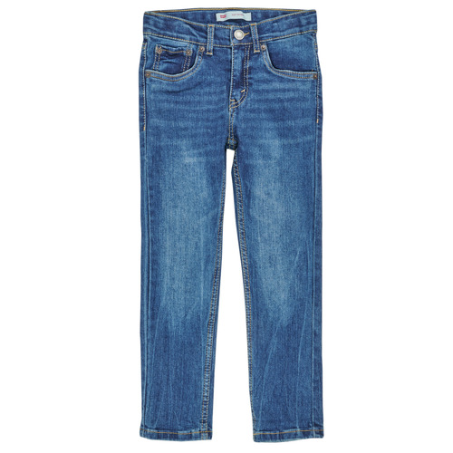 Clothing Boy Skinny jeans Levi's 510 SKINNY FIT COZY JEAN Aerosmith