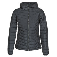 Clothing Women Duffel coats Columbia POWDER LITE HOODED JACKET Black