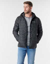 Clothing Men Duffel coats Columbia DELTA RIDGE DOWN HOODED JACKET Black