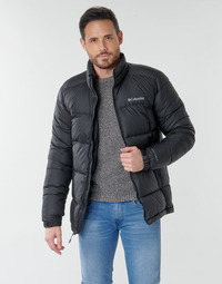 Clothing Men Duffel coats Columbia PIKE LAKE JACKET Black