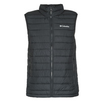 Clothing Men Duffel coats Columbia POWDER LITE VEST Black