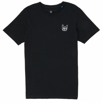 Clothing Boy Short-sleeved t-shirts Jack & Jones JJAARHUS TEE Black