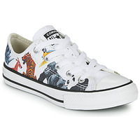 Shoes Children Low top trainers Converse CHUCK TAYLOR ALL STAR - OX White / Multicolour