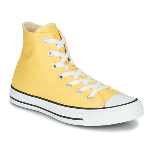 Shoes Women Hi top trainers Converse CHUCK TAYLOR ALL STAR - SEASONAL COLOR Yellow
