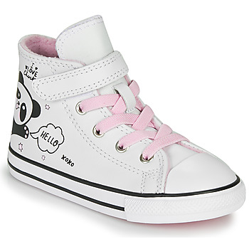 Shoes Girl Hi top trainers Converse CHUCK TAYLOR ALL STAR 1V - NOTES FROM BFF White