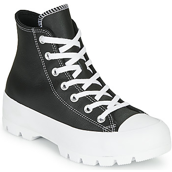 Shoes Women Hi top trainers Converse Chuck Taylor All Star Lugged - Foundational Leather Black