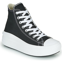 Shoes Women Hi top trainers Converse Chuck Taylor All Star Move Canvas Color Hi Black