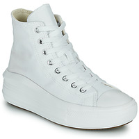 Shoes Women Hi top trainers Converse Chuck Taylor All Star Move Canvas Color Hi White