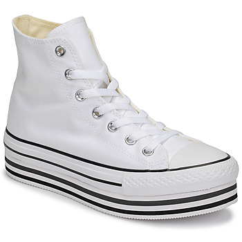 Shoes Women Hi top trainers Converse Chuck Taylor All Star Platform Eva Layer Canvas Hi White