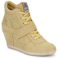 Shoes Women Hi top trainers Ash BOWIE Yellow / Pastel