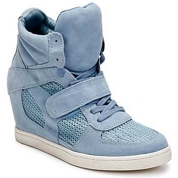 Shoes Women Hi top trainers Ash COOL Blue