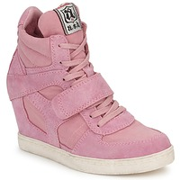 Shoes Women Hi top trainers Ash COOL Pink