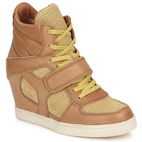 Shoes Women Hi top trainers Ash COCA Brown / Yellow