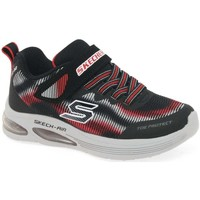 Shoes Boy Sandals Skechers Skech Air Dual Boys Sports Trainers black