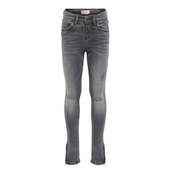 Clothing Girl Slim jeans Only KONKENDEL Grey