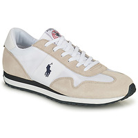 Shoes Men Low top trainers Polo Ralph Lauren TRAIN 85-SNEAKERS-ATHLETIC SHOE White