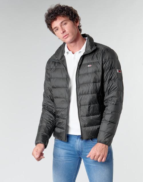 Clothing Men Duffel coats Tommy Jeans TJM PACKABLE LIGHT DOWN JACKET Black